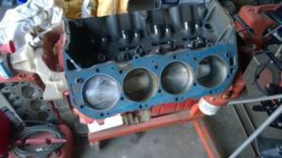 Chevy 565 short block
