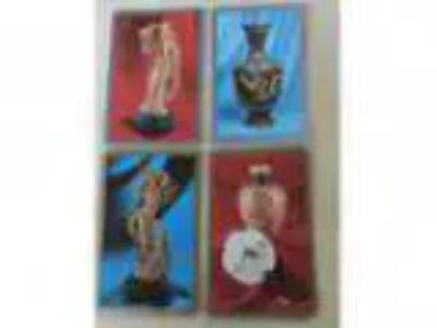 Set of vintage Coles s Asian Antiquities swap cards