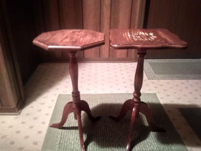 Wood End Tables - 2