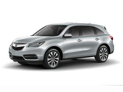 2016 Acura MDX 3.5L (Crystal Black Pearl)