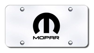 Find Chrysler Mopar Laser Etched Brushed Stainless Steel License Plate Made in USA G motorcycle in San Tan Valley, Arizona, US, for US $39.52