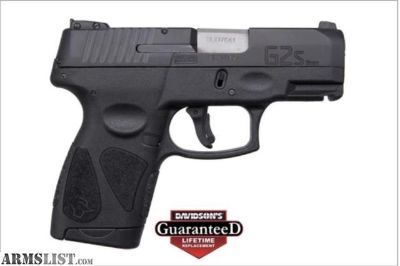 For Sale: Taurus G2S 9MM.