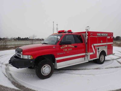 1997 Dodge RAM FIRE RESCUE TRUCK