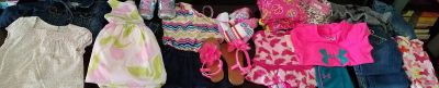 Baby Girl Clothing & Shoes Lot!