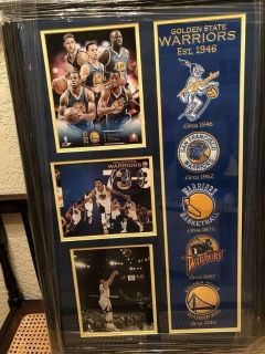 Golden State Warriors 73-9 record season. Felt patched from Warriors History