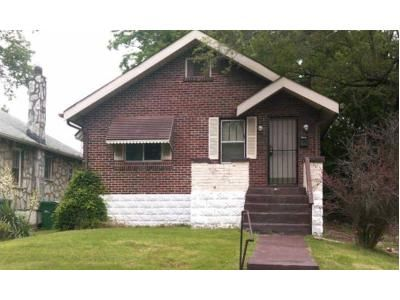 2 Bed 1 Bath Foreclosure Property in Saint Louis, MO 63121 - Woodrow Ave