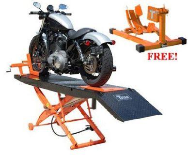 $919 SDML-1000D Titan Motorcycle Lift *Free Wheel Chock thru Dec. 31*
