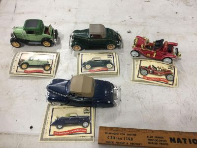 GOLDEN AGE OF FORD DIECAST CARS all for $6