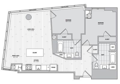 $9780 2 apartment in Chinatown