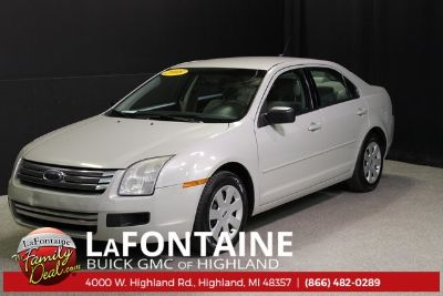 2008 Ford Fusion I4 S (Light Sage Clearcoat Metallic)