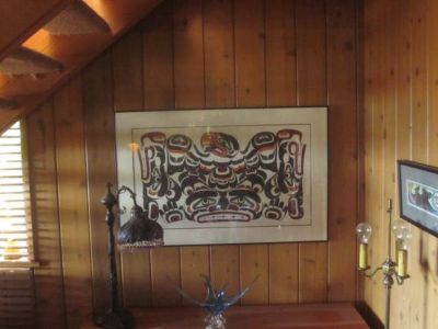 Signed Original painting by First Nations artist Mark Henderson
