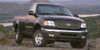 2003 Ford F-150 XL (Yellow)