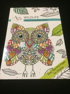Adult coloring book p1