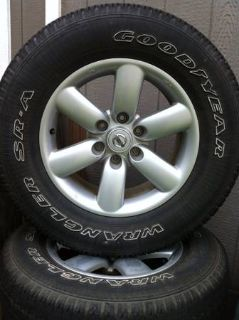 Rims and Tires from 2010 Nissan Titan