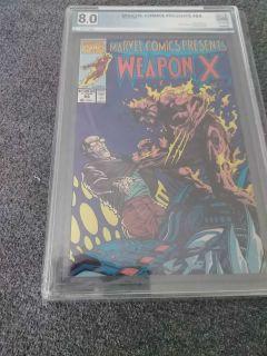 Marvel Comics Presents Weapon #83 PGX 8.0