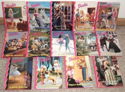 Vintage 1990s Barbie & Friends Book Club Lot of 14 Hard Cover Mattel Collector