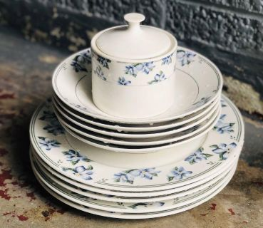 Sango Summerwind Vintage Dishes and Glassware
