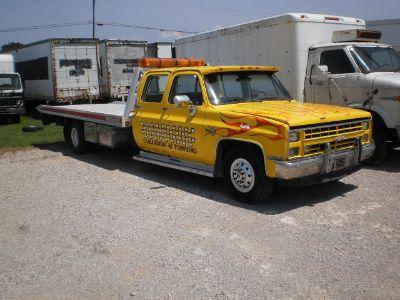 1986 Chevy Silverado 4 Door Crew Cab Rollback
