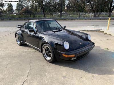 1987 930 Turbo factory Black on Black 50k miles