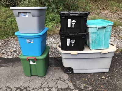7 Used Totes