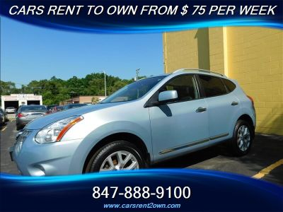 2012 Nissan Rogue S (Silver)