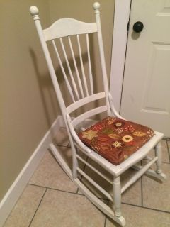 Adorable rocking chair.