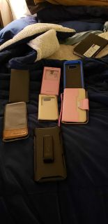 Samsung Galaxy S 5 and S 8 cases