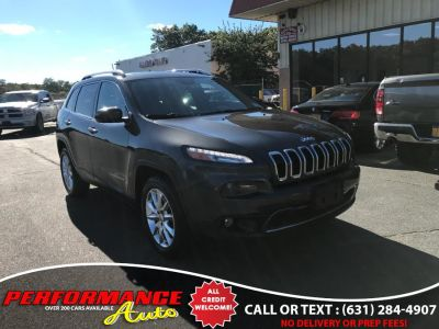 2016 Jeep Cherokee 4WD 4dr Limited (Granite Crystal Metallic Clearcoat)