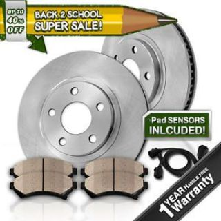 Purchase Front OE Brake Rotors and Ceramic Pads Kit BMW 540I 1996 1997 1998 1999 2000 E39 motorcycle in Orland Park, Illinois, United States, for US $106.35
