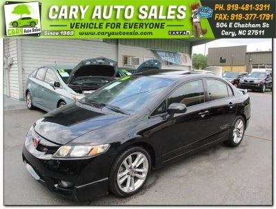 2010 Honda Civic Si w/Summer Tires (BLACK)