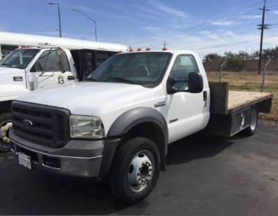 Ford F-550 Diesel Transport with 3 or 4 Car trailer