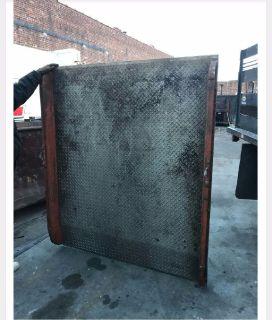 5'x6' Aluminum dock plate.  10,000 lb capacity