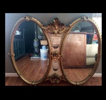 Mid century/ vintage huge beautiful mirror
