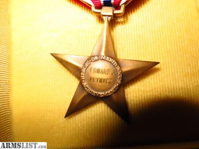 For Sale/Trade: Bronze Star NAMED WW2
