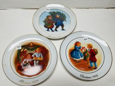 Set of 3 Collectible Plates $1 All