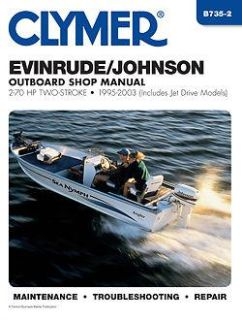 Buy 1995-2003 Johnson Evinrude Outboard Service Repair Shop Manual 3/15/20/40/60 motorcycle in Worcester, Massachusetts, US, for US $27.99