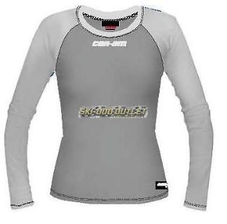 Buy Can-Am -Ladies Kappa Designed For Can-Am Long Sleeve Tee -Gray motorcycle in Sauk Centre, Minnesota, United States, for US $34.99