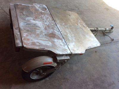 Besco small folding trailer.
