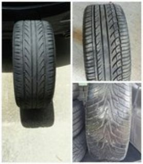 3 different sets of tires 912-242-4303