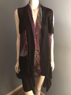 NEW Gorgeous Pyramid Collection Vest