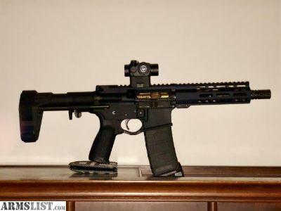For Sale: 7.5 ar15 pistol