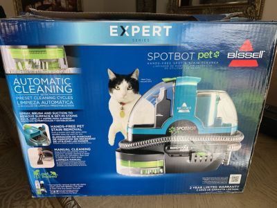 BISSELL SpotBot Pet Deluxe expert series Carpet Cleaner