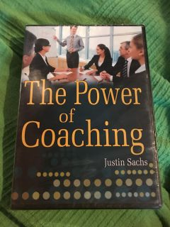 New- The Power of Coaching Business Dvd