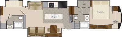 2020 DRV Mobile Suites 43 Manhattan