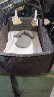 Gently Used Eddie Bauer Infant Travel Bed