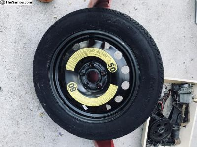 Spare wheel and Continental tire never used