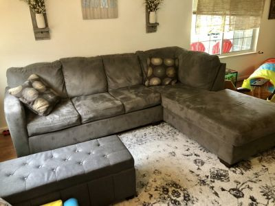 Gray Ashley sectional