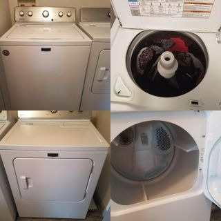 Maytag commercial tech washer and dryer- $400 OBO