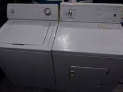 working whirlpool washer and kenmore dryer.