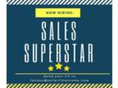 Looking for sales superstar